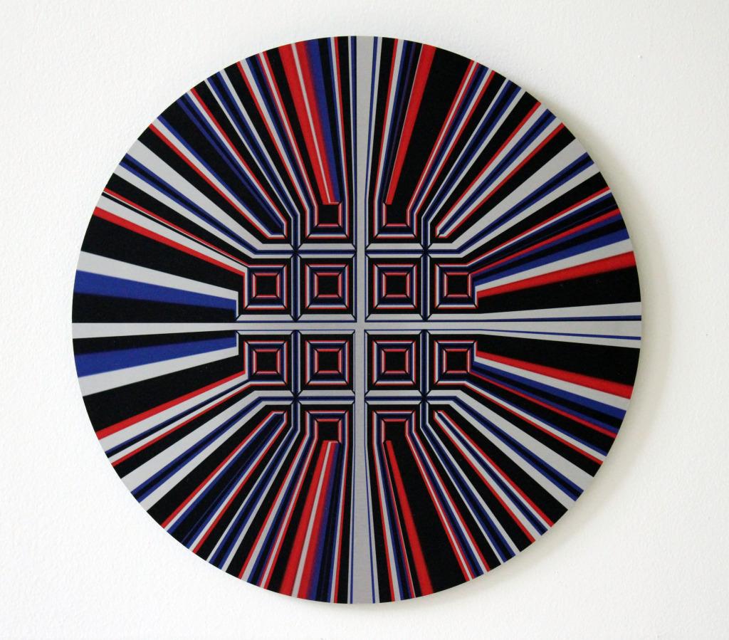 Martin Schoffel.Geometria y Color #59
