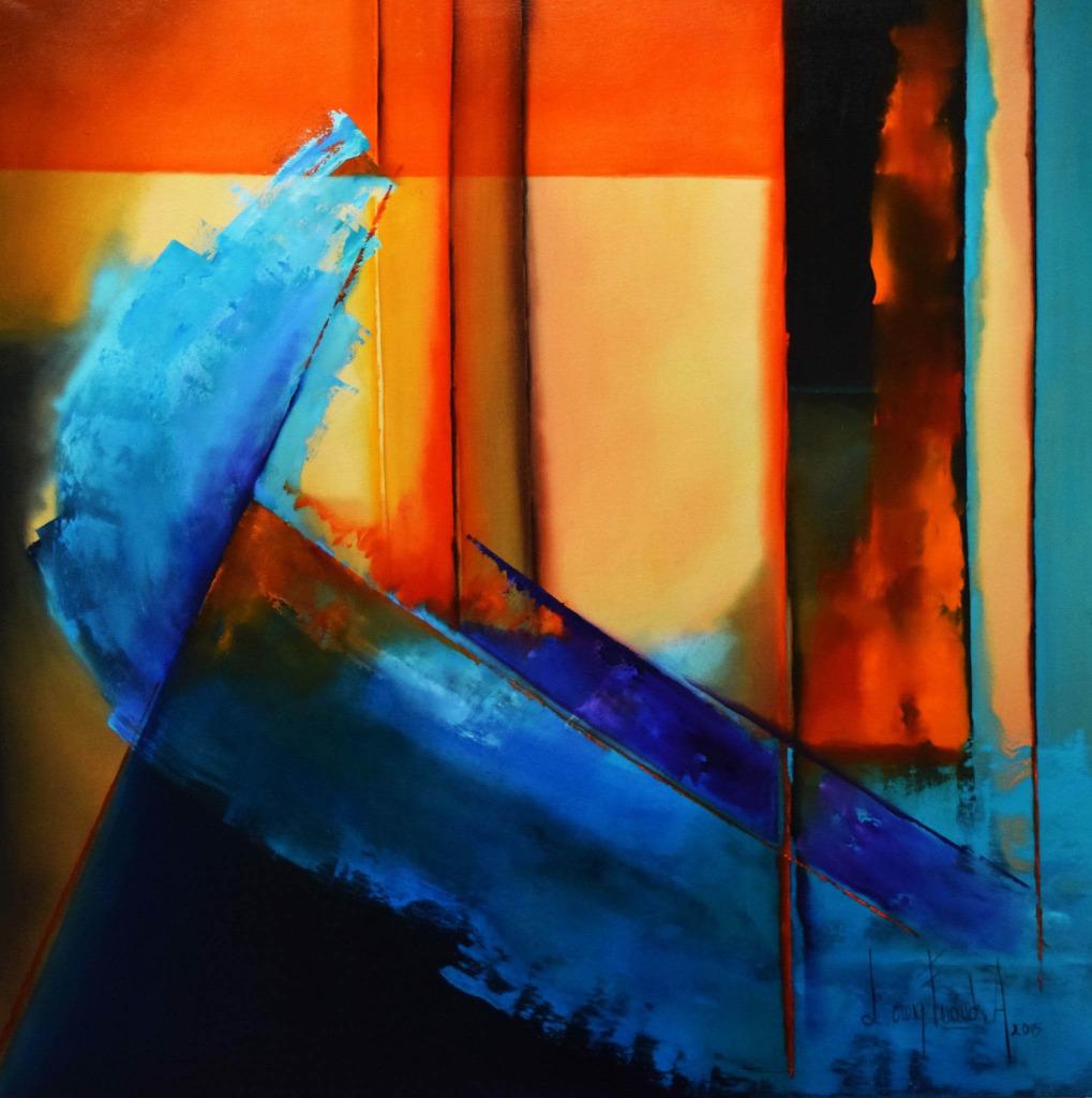 Brisa Fresca de Verano. Oil on Canvas