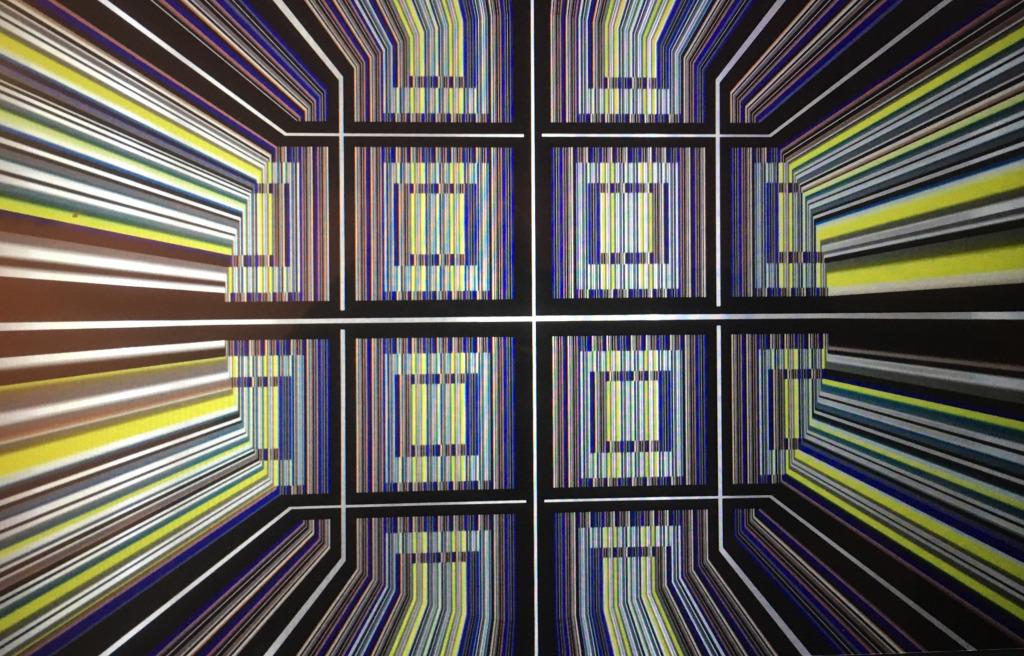 Geometria y Color #61.Printed on German Aluminum
