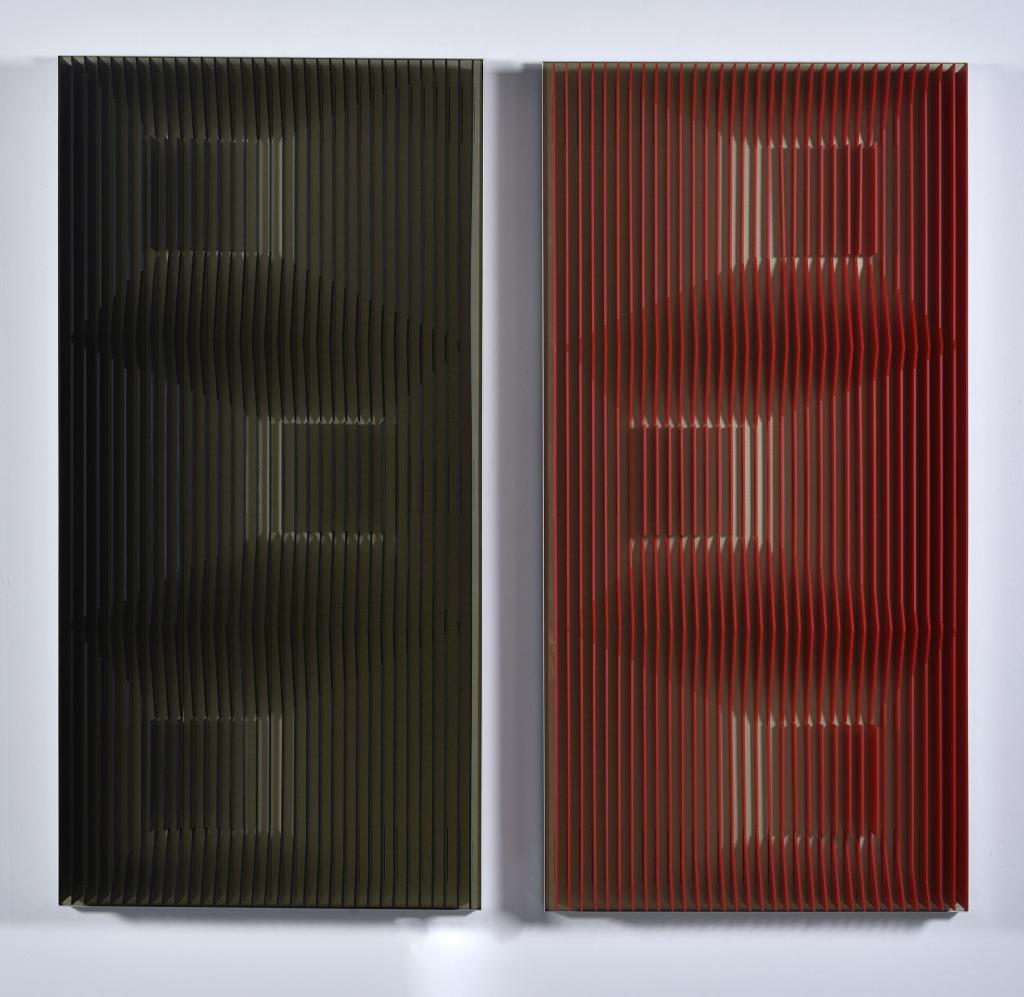 J. Margulis. Gold Slide (Black & Red)